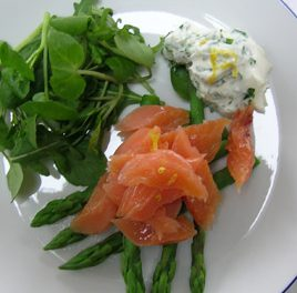Bradley Smoked Trout Salad